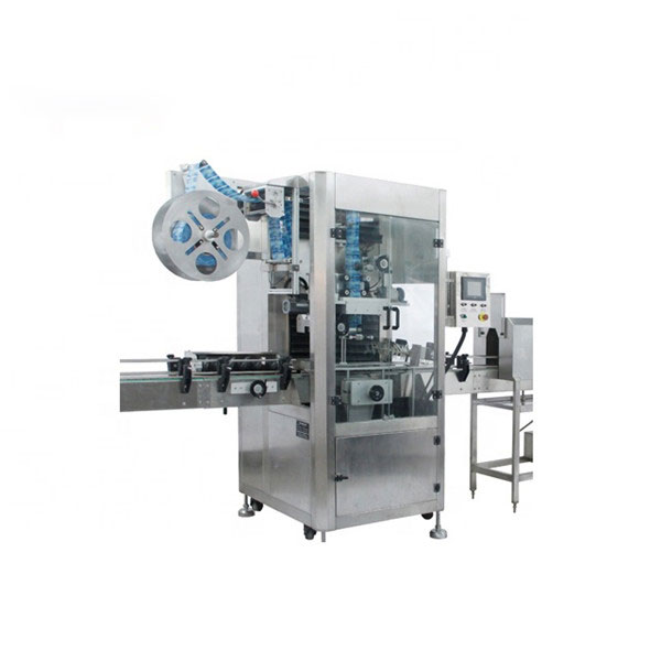 PVC Shrink Sleeve Applicator Machine სრულად ავტომატური Shrink Label Machine