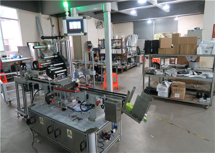 Auto Top Labelling Machine Flat Surface Label Applicator