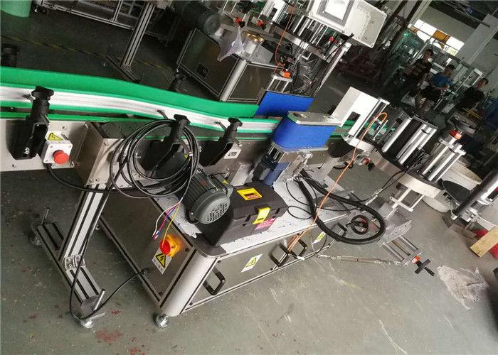 ლუდის ბოთლის ეტიკეტის აპლიკატორი, ავტომატური ეტიკეტის აპარატი 330 მმ რულონის დიამეტრი